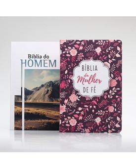 Kit 2 Bíblias | Casal de Fé | Edição 2