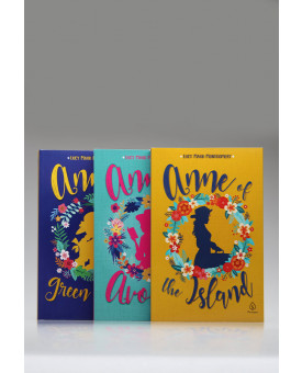 Kit 3 Livros | Anne of Green Gables | English Edition