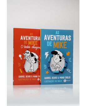 Kit 2 Livros | As Aventuras de Mike | Gabriel Dearo & Manu Digilio