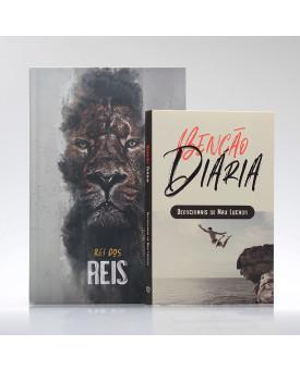 Kit Tempo com Deus | Bíblia ACF Rei dos Reis + Devocional Benção Diária