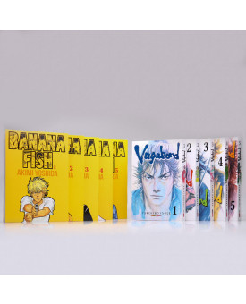 Kit 10 Livros   Banana Fish + Vagabond