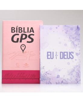 Kit Bíblia GPS + Eu e Deus | Lilás