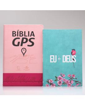 Kit Bíblia GPS + Eu e Deus | Meu Amado