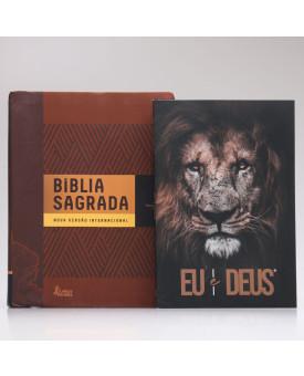 Kit Bíblia Com Espaços Para Anotações + Eu e Deus | Eu Sou