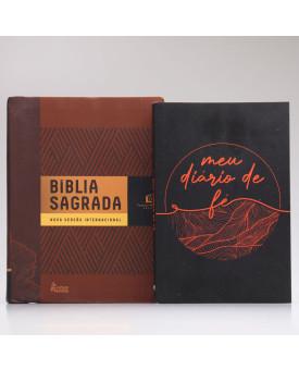 Kit Meu Diário de Fé | Bíblia Com Espaços Para Anotações + Masculina