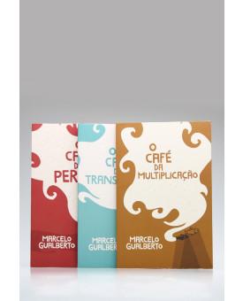 Kit 3 Livros | O Café | Marcelo Gualberto
