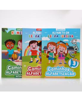 Kit 3 Livros | Caminhos da Alfabetização