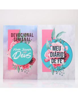 Kit Devocional + Diário de Fé | Colagem