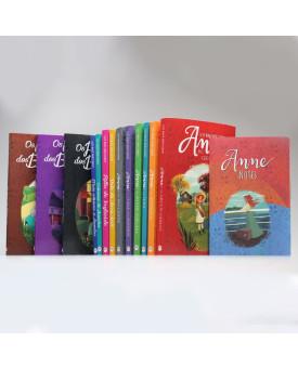Kit completo 13 livros | Anne de Green Gables | Lucy Maud Montgomery + Bloco de Anotações