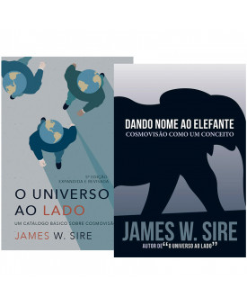 Kit 2 Livros | Cosmovisão | James W. Sire
