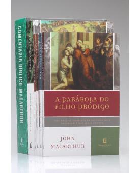Kit de Estudo MacArthur | Manual Bíblico + Comentário Bíblico | Grátis + 4 Livros