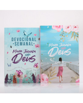 Kit Devocional Semanal Jardim Secreto + Minha Jornada com Deus | Menina dos Olhos
