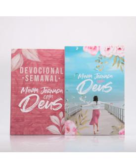Kit Devocional Semanal Pétalas + Minha Jornada com Deus | Menina dos Olhos