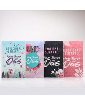 Kit 4 Livros | Devocional Semanal Minha Jornada com Deus