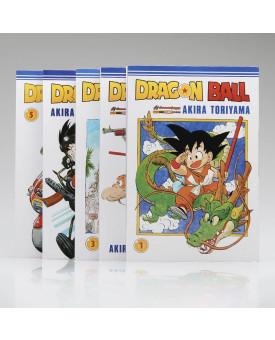 Kit 5 Livros | Dragon Ball | Akira Toriyama