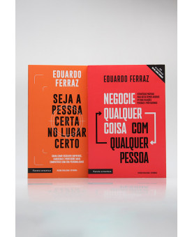 Kit 2 Livros | Desenvolvimento Pessoal | Eduardo Ferraz