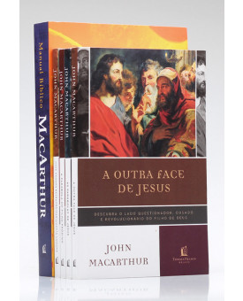 Kit Exclusivo John MacArthur 4 Livros | Grátis Manual Bíblico MacArthur
