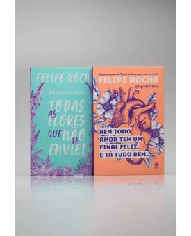 Kit 2 Livros | @Tipobilhete | Felipe Rocha