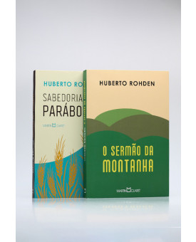 Kit 2 Livros   Huberto Rohden