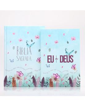 Kit Jardim Secreto | Bíblia + Eu e Deus