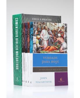 Kit John MacArthur | 4 Livros + Devocional e Comentário Bíblico