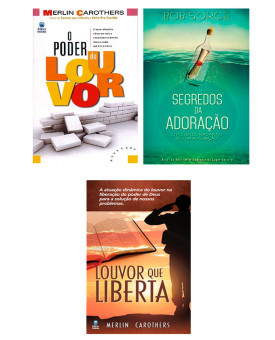 Kit 3 Livros | Louvor que Liberta