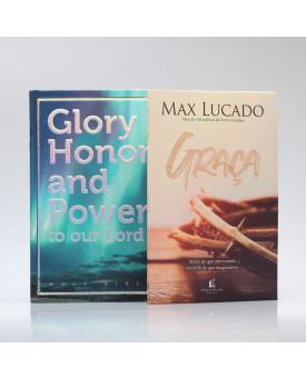 Kit Maravilhosa Graça | Bíblia Glory Honor And Power + Graça