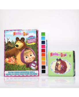 Kit 2 Livros   Masha e o Urso