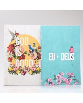 Kit Bíblia NAA Good Is Good + Eu e Deus Meu Amado | Fé Restaurada