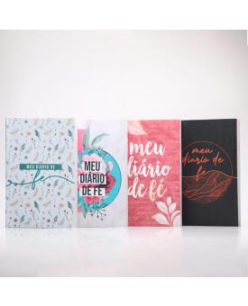 Kit 4 Livros | Meu Diário de Fé