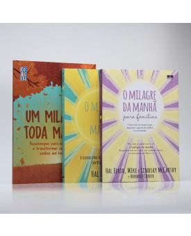 Kit 3 Livros | Transforme Sua Manhã | Hal Elrod