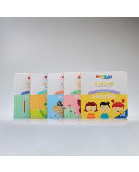 Kit 5 Livros | Montessori Um Mundo de Conquistas | Chiara Piroddi