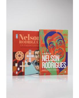 Kit 2 Livros | Nelson Rodrigues
