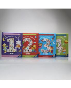 Kit 4 Livros | Histórias Para Crianças | Melanie Joyce