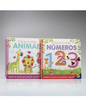 Kit 2 Livros   Estênceis Divertidos   Todolivro