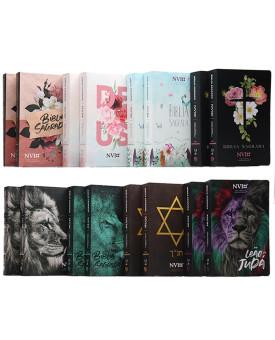 Kit 16 Bíblias | NVI | Letra Hipergigante
