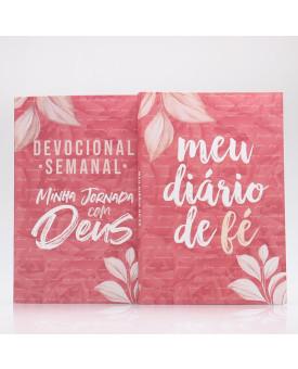 Kit Devocional + Diário de Fé | Pétalas