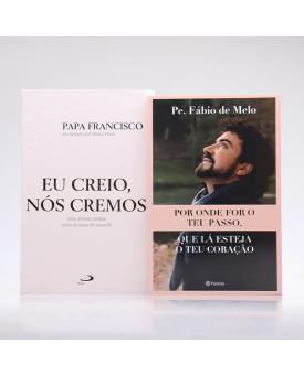 Kit 2 Livros | Eu Creio | Papa Francisco e Pe. Fábio de Melo