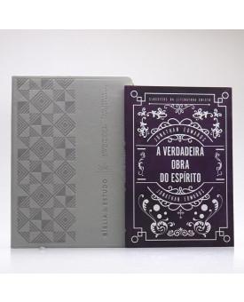 Kit Bíblia de Estudo Swindoll + Grátis Livro A Verdadeira Obra do Espírito | Jonathan Edwards