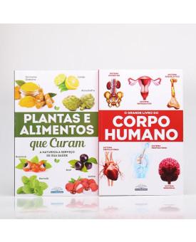 Kit 2 Livros   A Natureza a Serviço de Sua Saúde