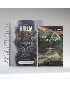 Kit Firmado na Palavra | Rei dos Reis | Bíblia Anote + Esperança Inabalável