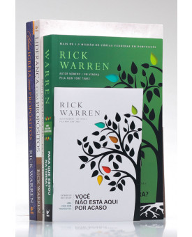 Kit 5 Livros | Vivendo com Propósito | Rick Warren