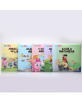 Kit 5 Livros   Sustentabilidade   Riki & Gabi