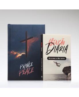 Kit Tempo com Deus | Bíblia ACF Prince of Peace + Devocional Benção Diária