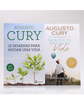 Kit 2 Livros | Mude sua Vida | Augusto Cury