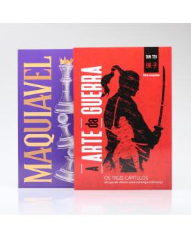 Kit 2 Livros Estratégia | A Arte da Guerra + O Príncipe | Principis