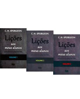 Kit 3 Livros | Lições Bíblicas aos Meus Alunos | C. H. Spurgeon