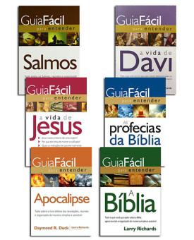 Kit 6 Livros | Guia Fácil Para Entender a Bíblia