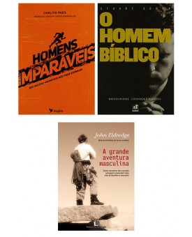 Kit 3 Livros | Homens Imparáveis
