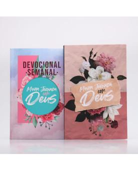 Kit Devocional Semanal Colagem + Minha Jornada com Deus | Papel